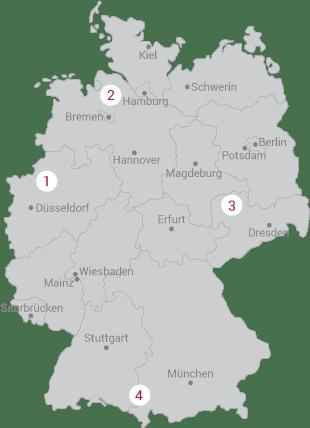 Standorte Convincign Systems